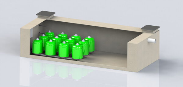 New Concrete Casing - Protector Storm Water Treatment and Enhancement Solutions